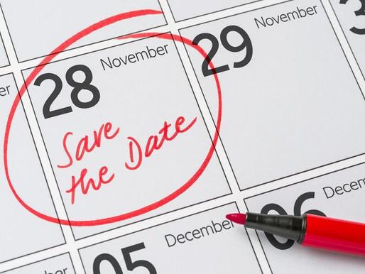 Mark Your Calendar! AGM Date Finalised