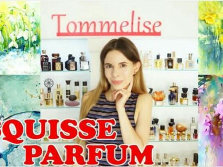 Обзор ароматов Esquisse parfum от Томмелиса
