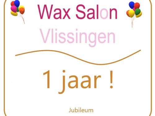 Wax salon vlissingen jubileum actie