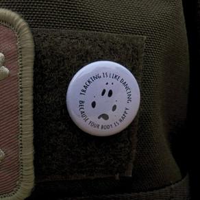 Buttons im Fährtenlesershop
