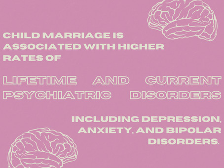 Study Reveals the Traumatic Psychological Impacts of Child Marriage