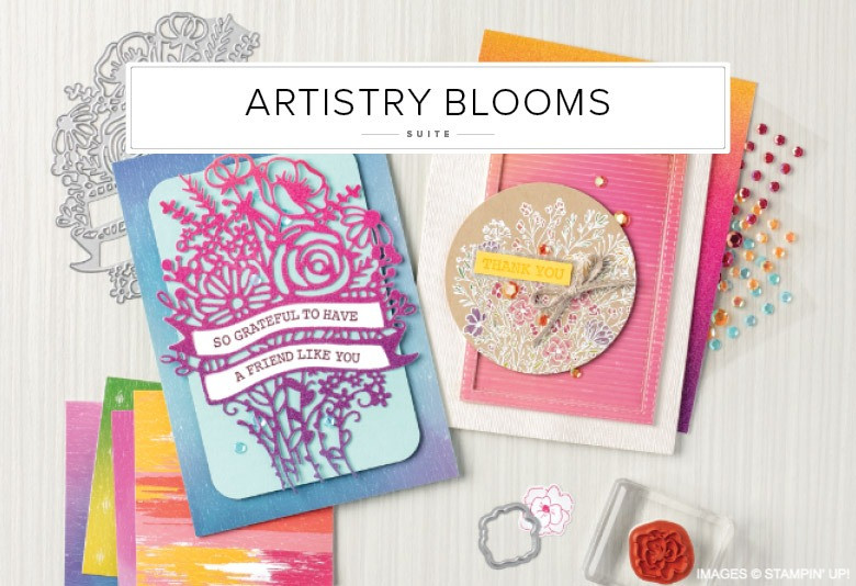 Artistry Blooms Stampin' Up! Product Suite Image