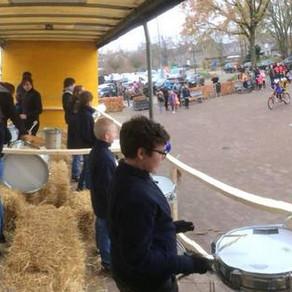 Drumband Begeleidde Sinterklaas