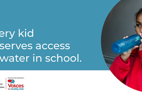 The New Voices for Healthy Kids Water Access Toolkit