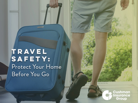 Travel Safety: Protect Your Home Before You Go
