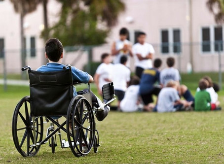 Why does society think it's all right to discriminate against people with disabilities?