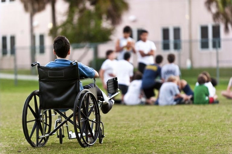 Why does society think it is all right to discriminate against people with disabilities? We should stop the prejudice and discrimination and empower disable people. #disablilities #society #prejudice