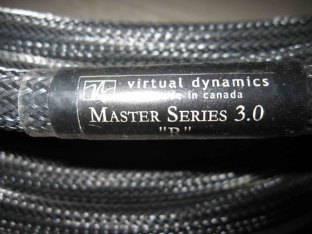 Virtual Dynamic Master 3.0 R speaker cables