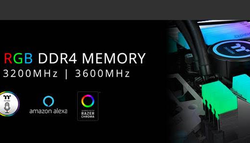 Thermaltake Launches TOUGHRAM RGB DDR4 Memory Series 3600MHz   3200MHz   3000MHz 16GB