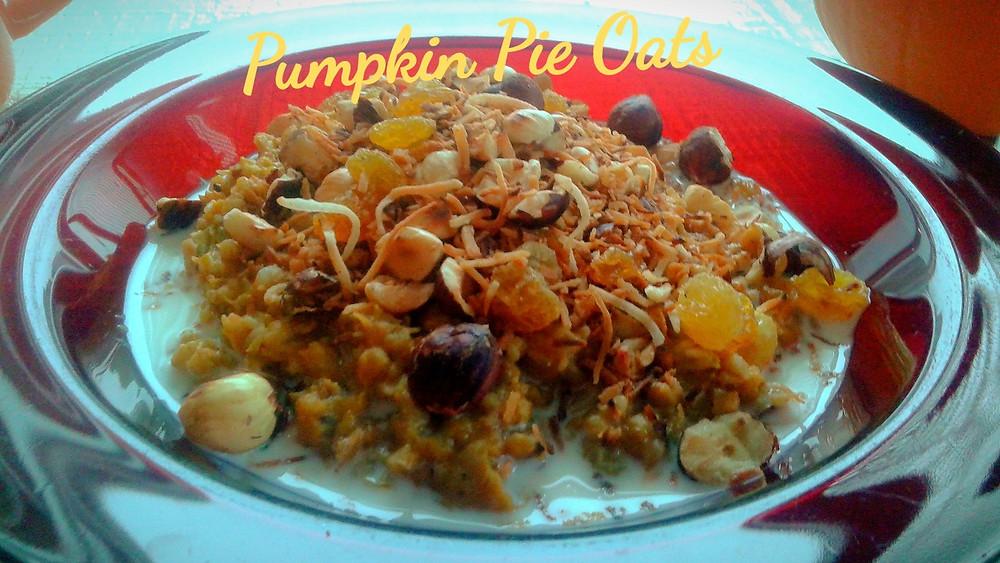 Pumpkin Pie Oats