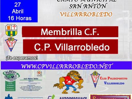 Nuestro juvenil se enfrenta este sábado al Membrilla CF en el Municipal de San Antón