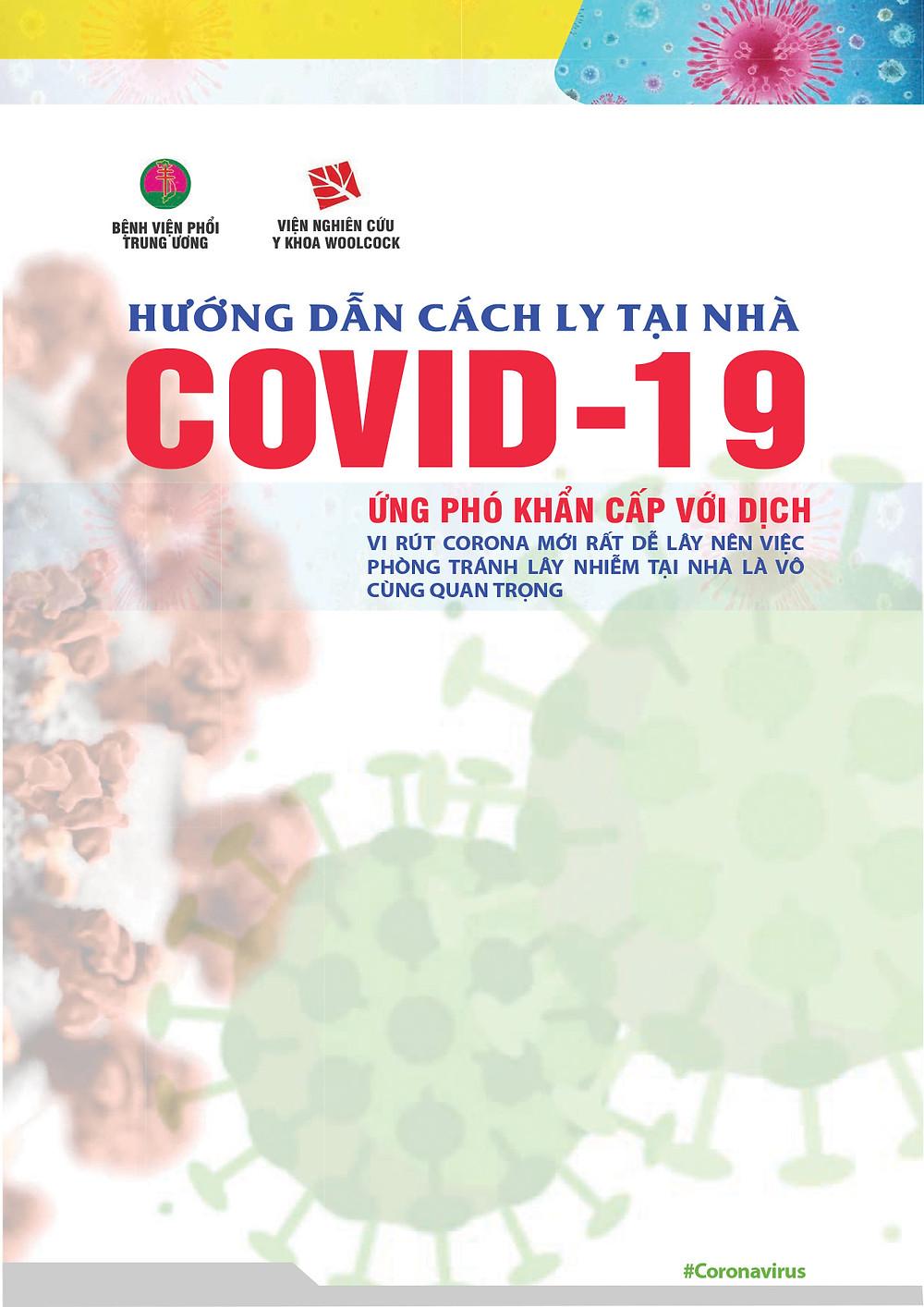File In A0 A4 Hướng Dẫn Cách Ly Tại Nhà CORONA COVID-19
