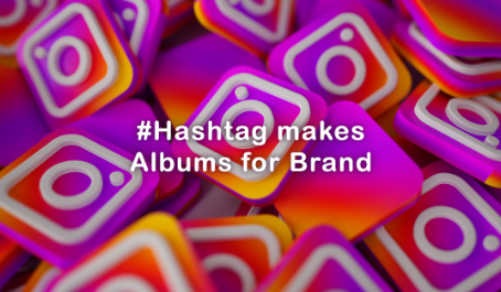 Instagram hashtag can be used in this way? The brands' photo collection.