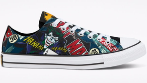 Holy Bat-Chucks! Converse has a seriously cool line of 80th Anniversary Batman sneakers