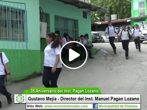 El Inst. Manuel Pagan Lozano cumple 35 años de fundación.