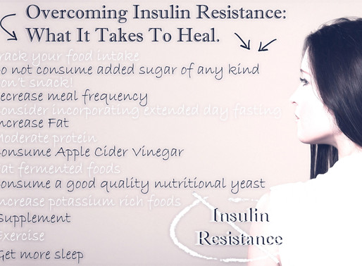 Part 2: Overcoming Insulin Resistance: What It Takes To Heal.