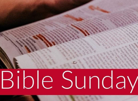 Bible Sunday - The Importance of the Bible in our Lives...