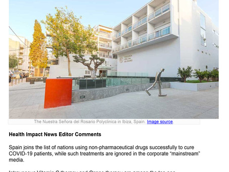 After Seeing Great Success, Spain Approves Ozone Therapy for COVID19 Patients