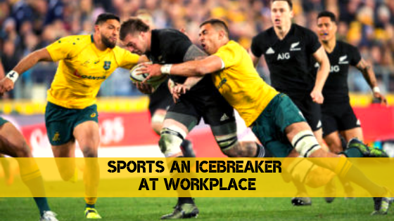 Employee engagement through sports