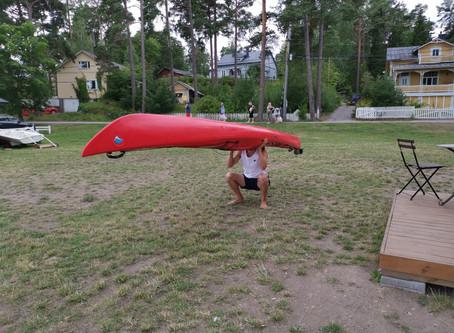 Kesä saaristossa treenaten 4: Helle, NEAT ja aerobisen vaikeus.