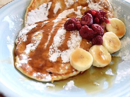 Pannenkoekjes als ontbijt of lunch!
