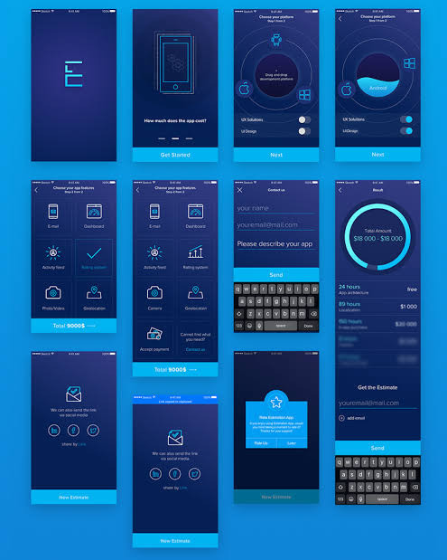 ( This image is the example of UI in phones)