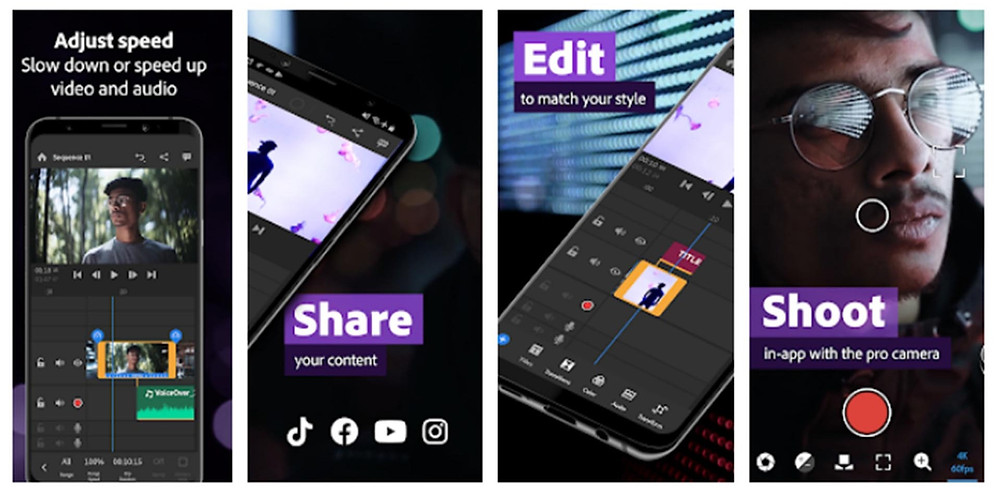 אפליקציה לעריכת וידאו
