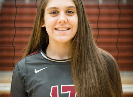 Halcrow Eclipses 1500 Career Assist Mark for Oak Ridge Volleyball