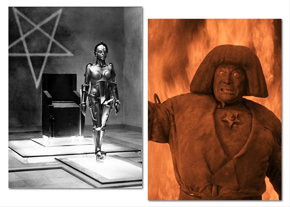 Metropolis' Hel and the Golem