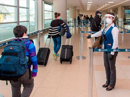 Nuevo protocolo para pasajeros que arriban al país desde el exterior