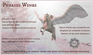 [Jinx] Pegasus Animesh Wings