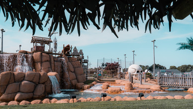 Travel On Our Mini-Golf Highway For Unexpected Adventures