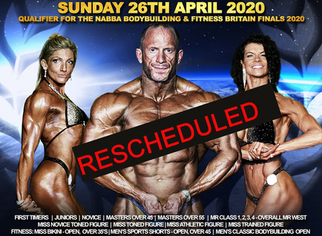 NABBA West 2020 Poster