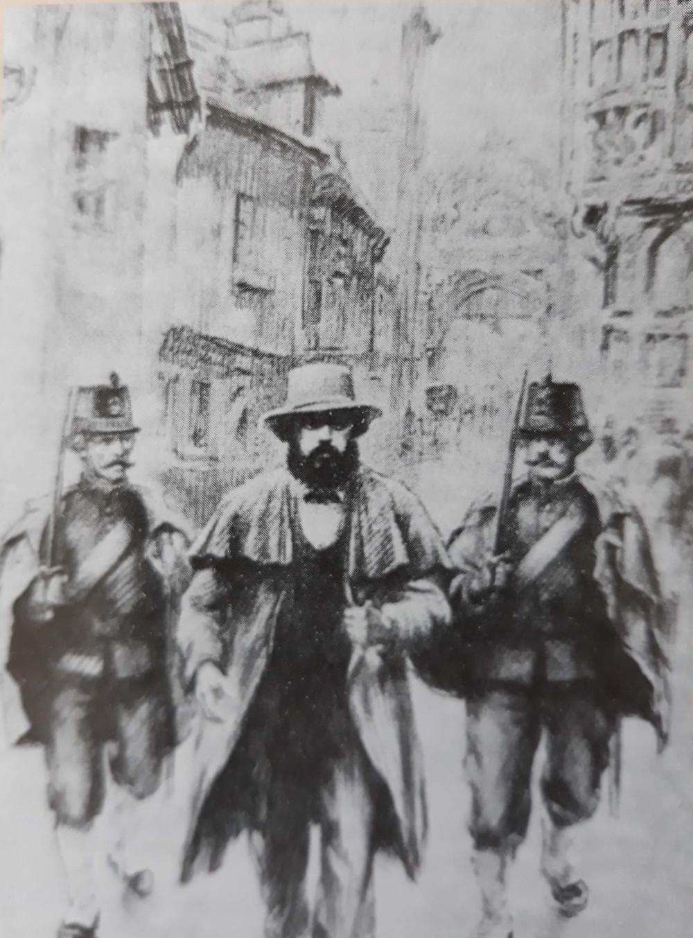 Karl Marx à Bruxelles, visite guidée Grand-Place Bruxelles, Vincent Beckers