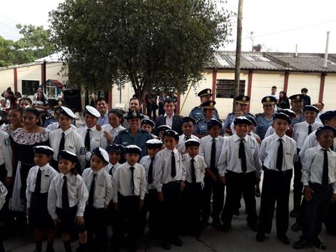 El Cuerpo Infantil de Castañares festejó un nuevo aniversario