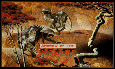 Shadow of the Beast box art by Roger Dea