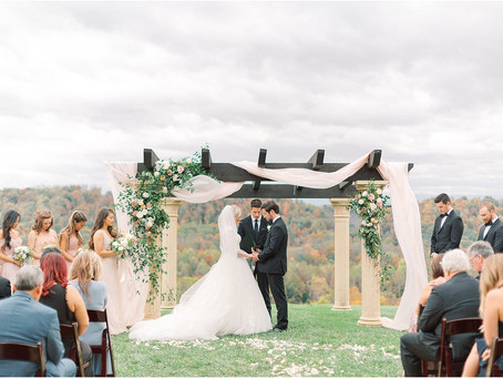 Mary + Joseph's Swanky Chateau Selah Wedding in Tennessee!