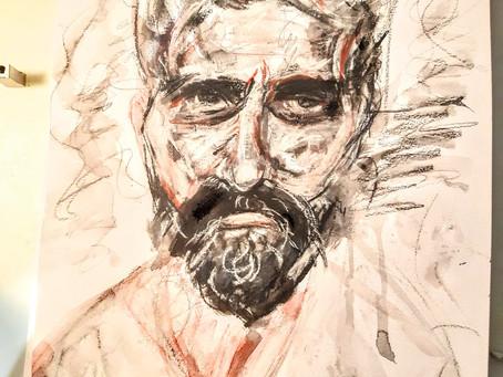 Portrait of Stuart (me)