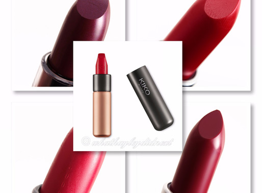 My 5 favourite Red lipsticks to be worn this Winter.