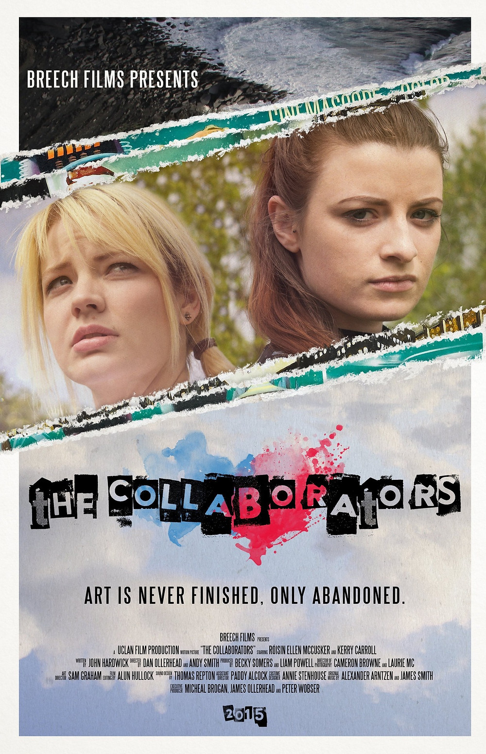Poster for The Collaborators showing protagonists.