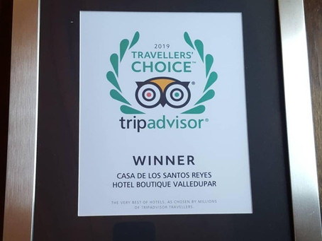 TRAVELLERS' CHOICE WINNER