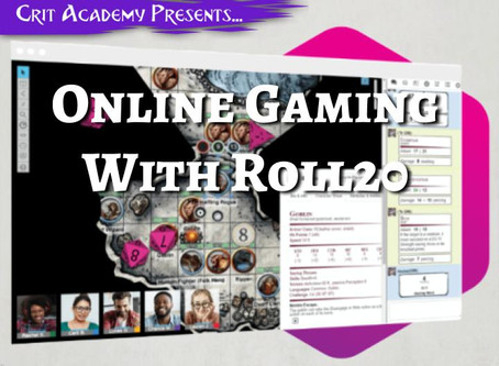 Online Roleplay with Roll20