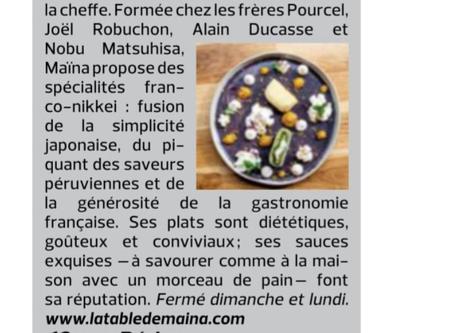 Le Figaroscope - 8 au 14 Janvier 2020