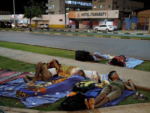 MIGRAÇÃO VENEZUELANA - O choro de humilhação de quem foi jogado à força em outra vida