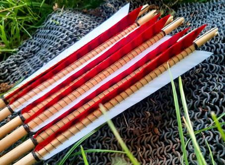 Set of arrows for Jason Kingsley OBE.