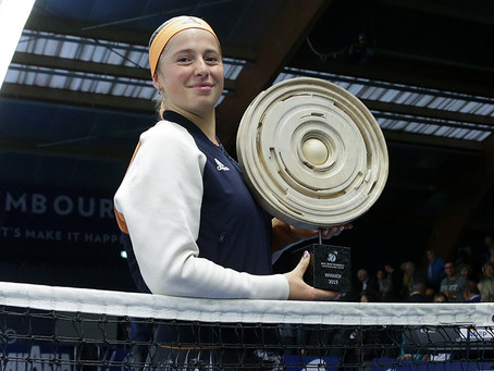 OSTAPENKO (LAT) WINS 3RD TITLE IN LUXEMBOURG