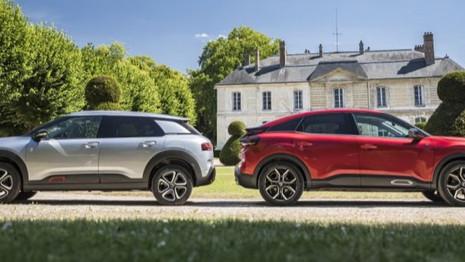 La nouvelle Citroën C4 affronte le C4 Cactus