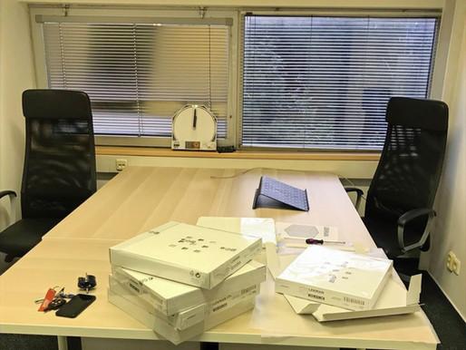 Budujeme nové kanceláře