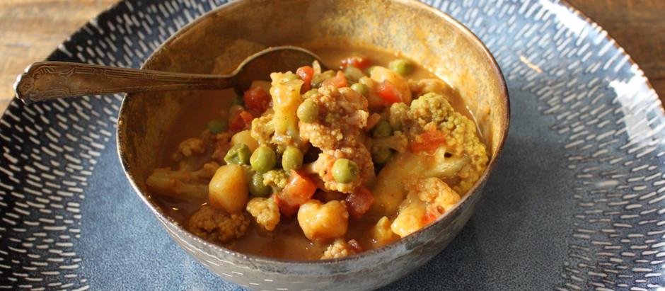 One-Pot No-Chop Veggie Korma