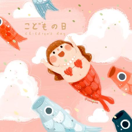Children books illustrator Lisa Saputra